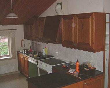 Köket före renovering